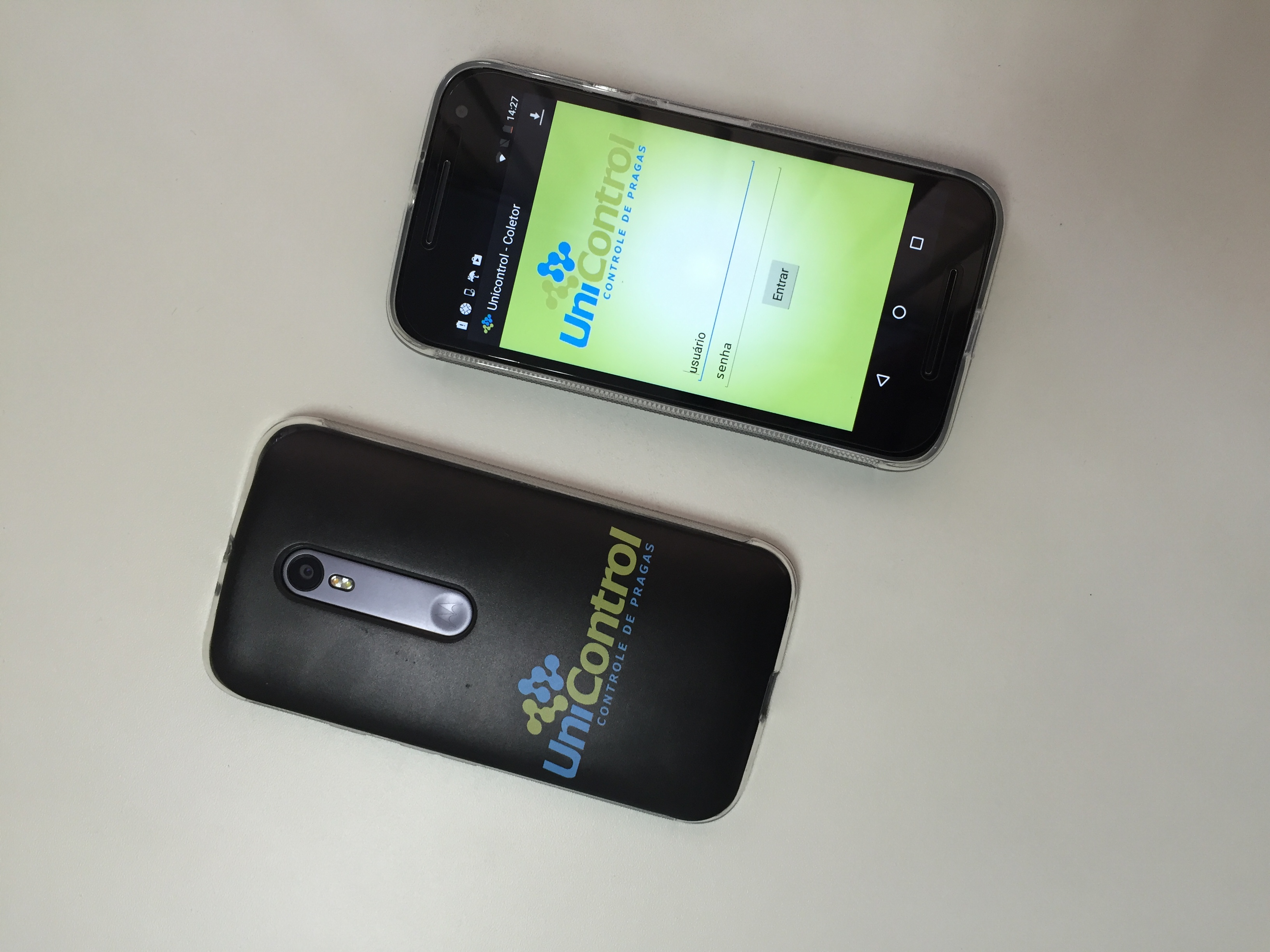 Novos smartphones da Unicontrol